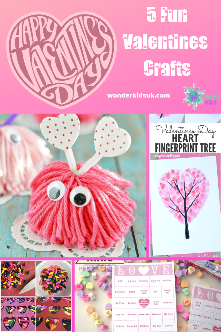 5 Fun Valentines Crafts.png