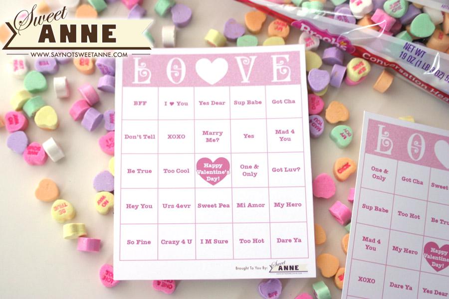 Sweetheart bingo from Wonder Kids