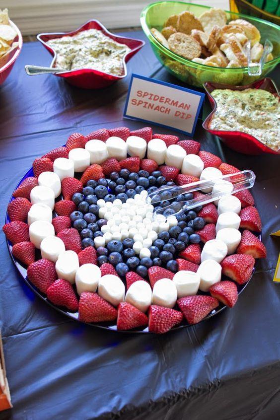 Cap's Fruit Platter