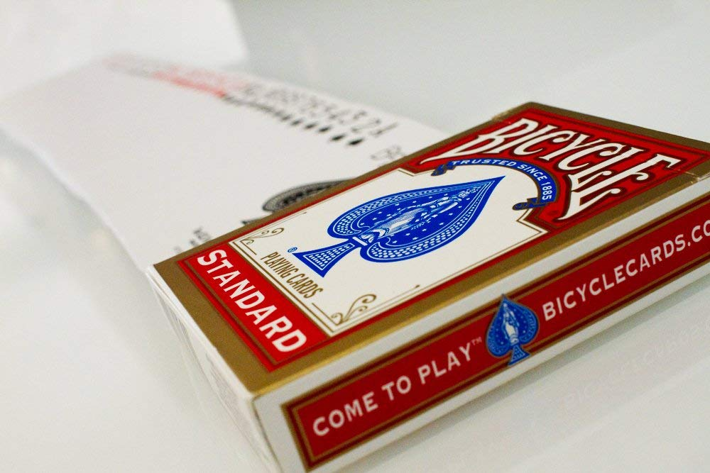 Bicycle Poker Cards on Amazon