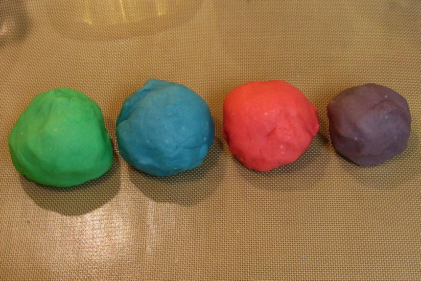 Finished Play Dough