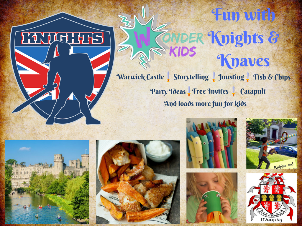 Knights and Princess birthday party