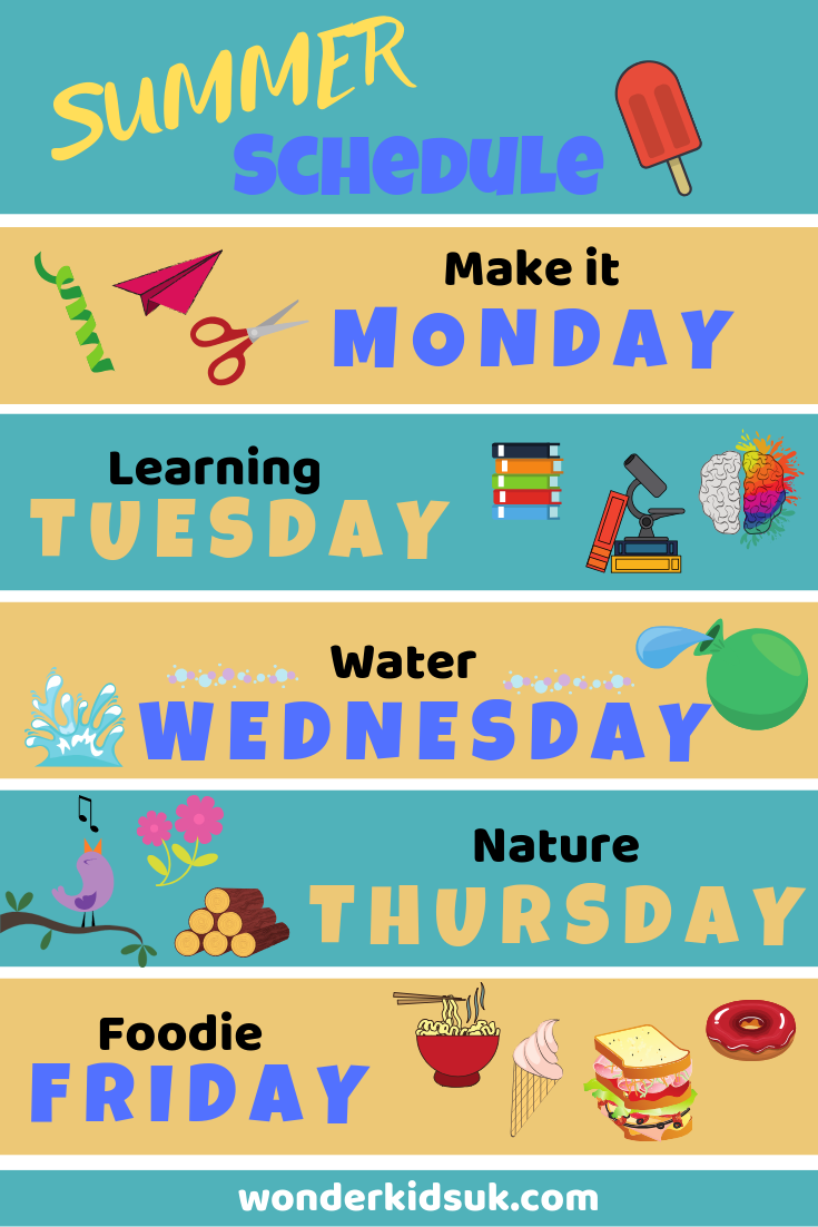 Make it Monday Summer Activities