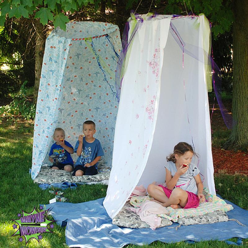 DIY Picnic Tent