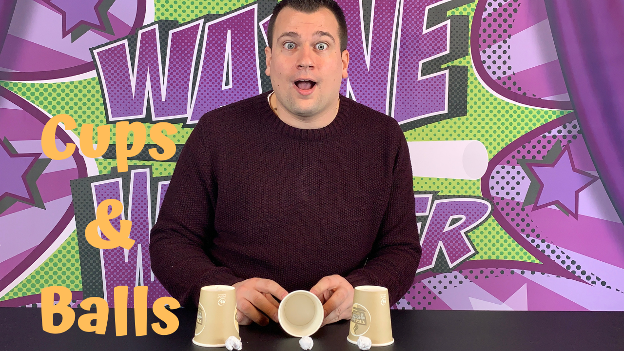 Click here to learn the cups and balls