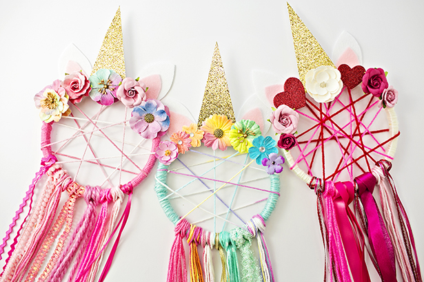 Unicorn Dream Catchers Wonder kids