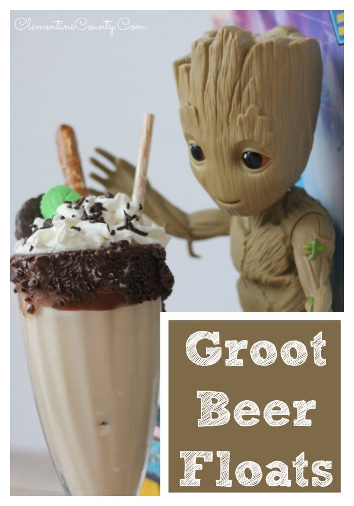 Groot Beer Floats