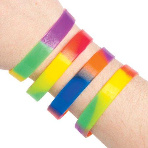 Rainbow Wristbands