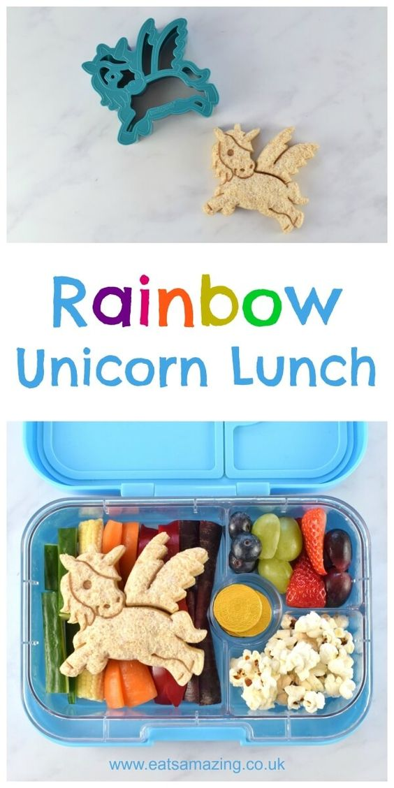 Rainbow Snadwich Lunch