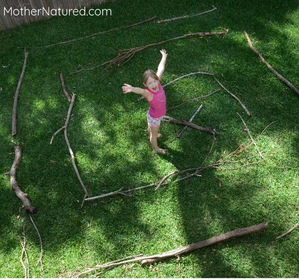 Nature Stick Maze