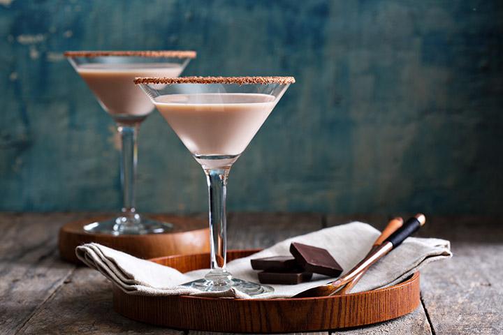Chocolate Vanilla Mocktail