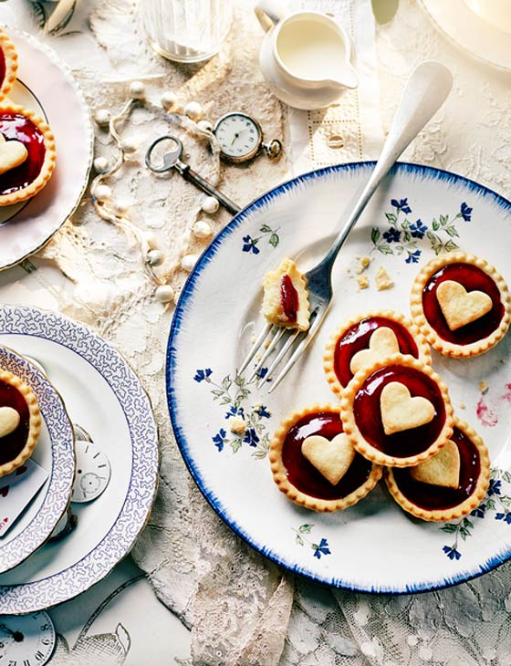 Queen of Heart Tarts