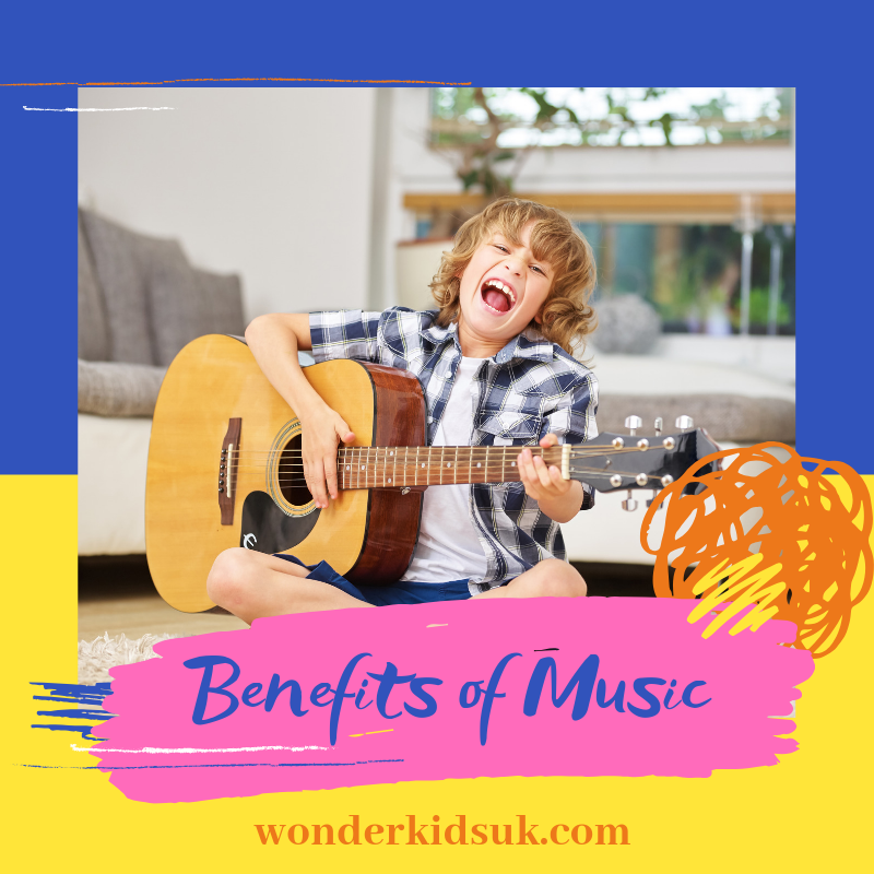 Benefits of music from Wonder Kids