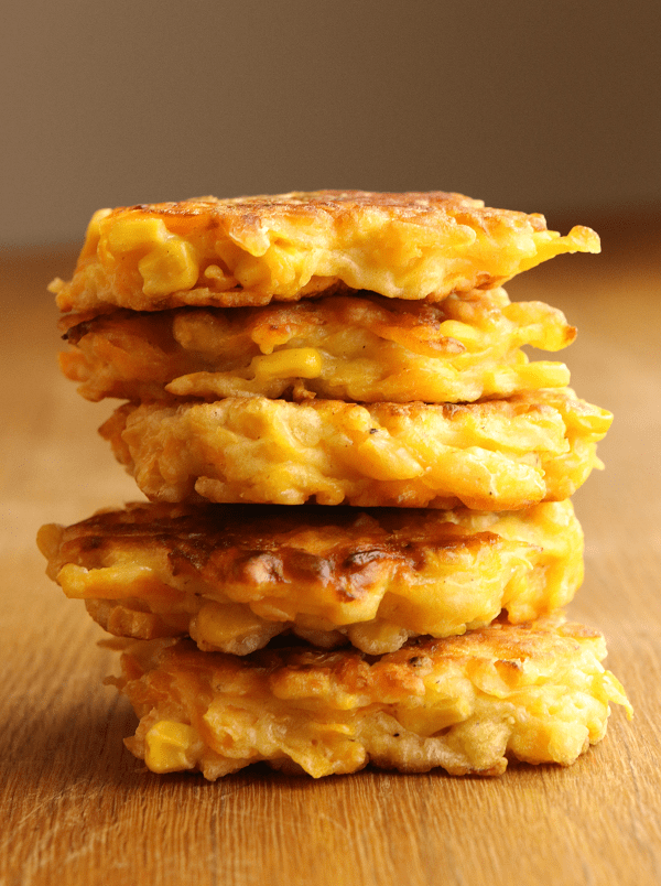 Sweetcorn Fritters from Wonder kids
