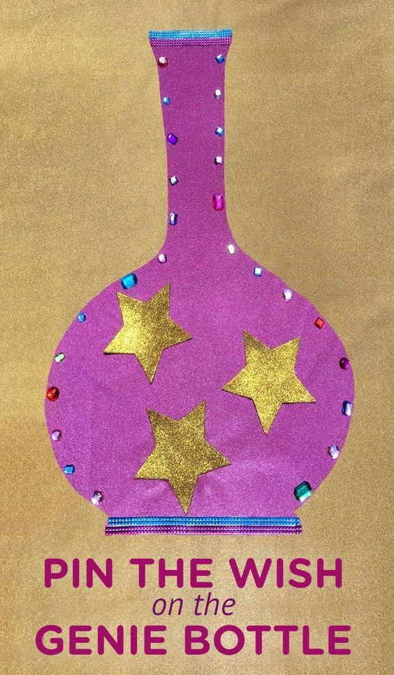 Pin the Wish game from Wonder Kids