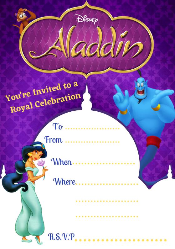 Aladdin Invite