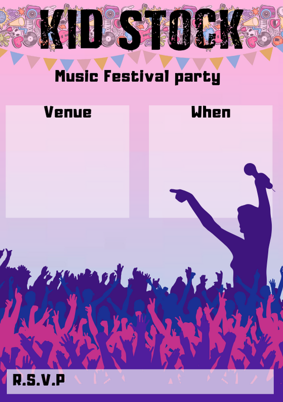 Music Festival Party