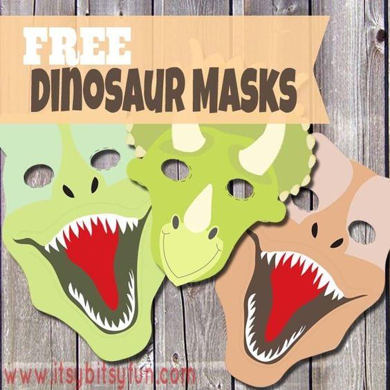 Dino Mask Colour