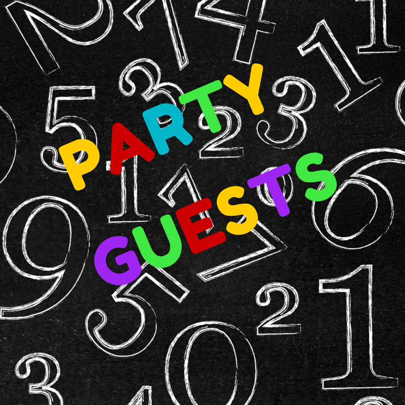 Party Planning - Get your free downloads here, keep track of guests and make sure you don't forget anything.