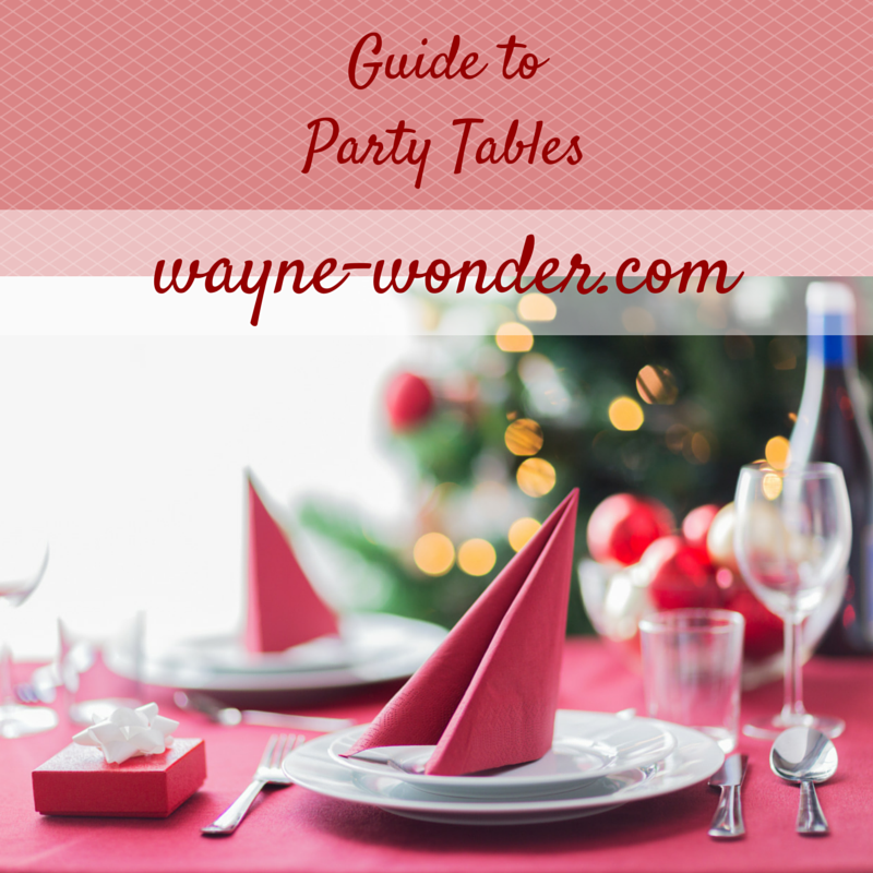 Decorations - Table planners & Decoration/Party bag planner available to download for free