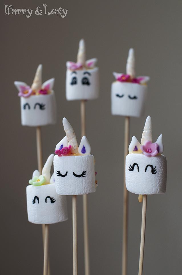 Unicorn Marshmallows