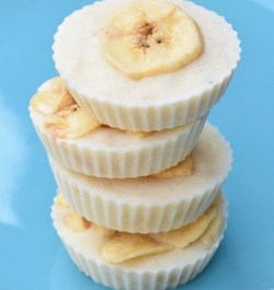 Frozen Banana Yogurt Bites