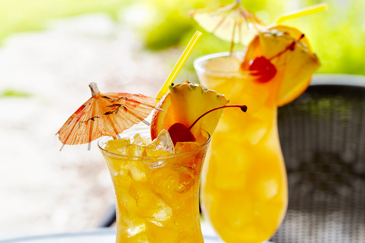 Pineapple Orange Mocktail