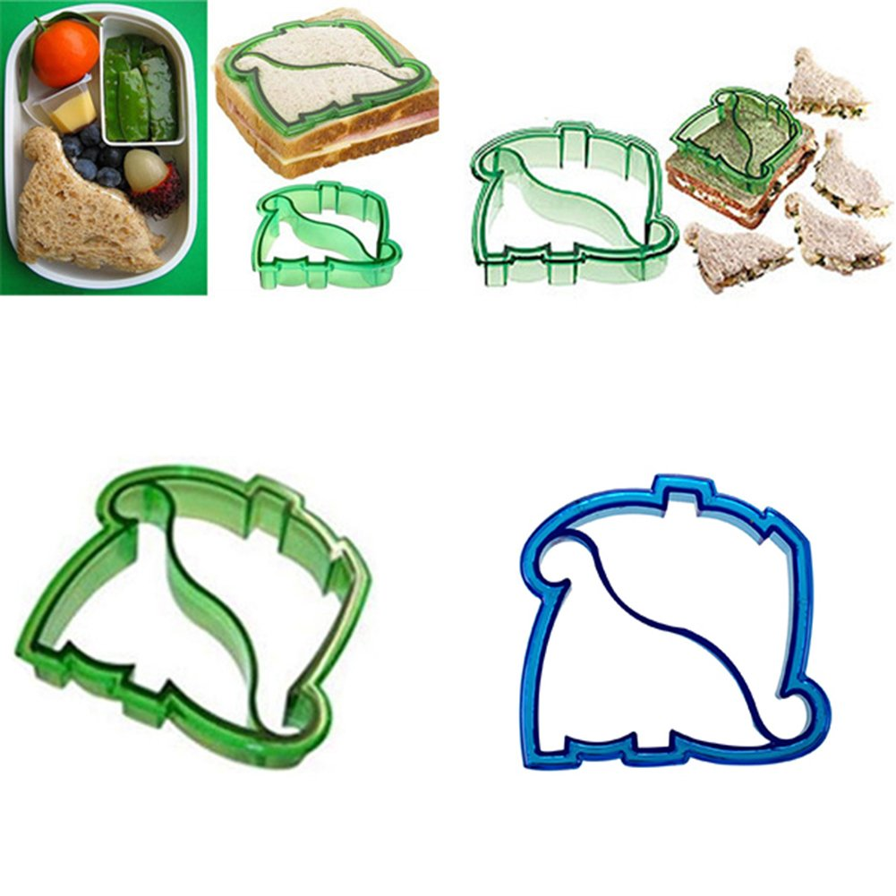 Dinosaur sandwich cutter from Amazon click here