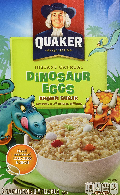 Dinosaur Eggs Breakfast