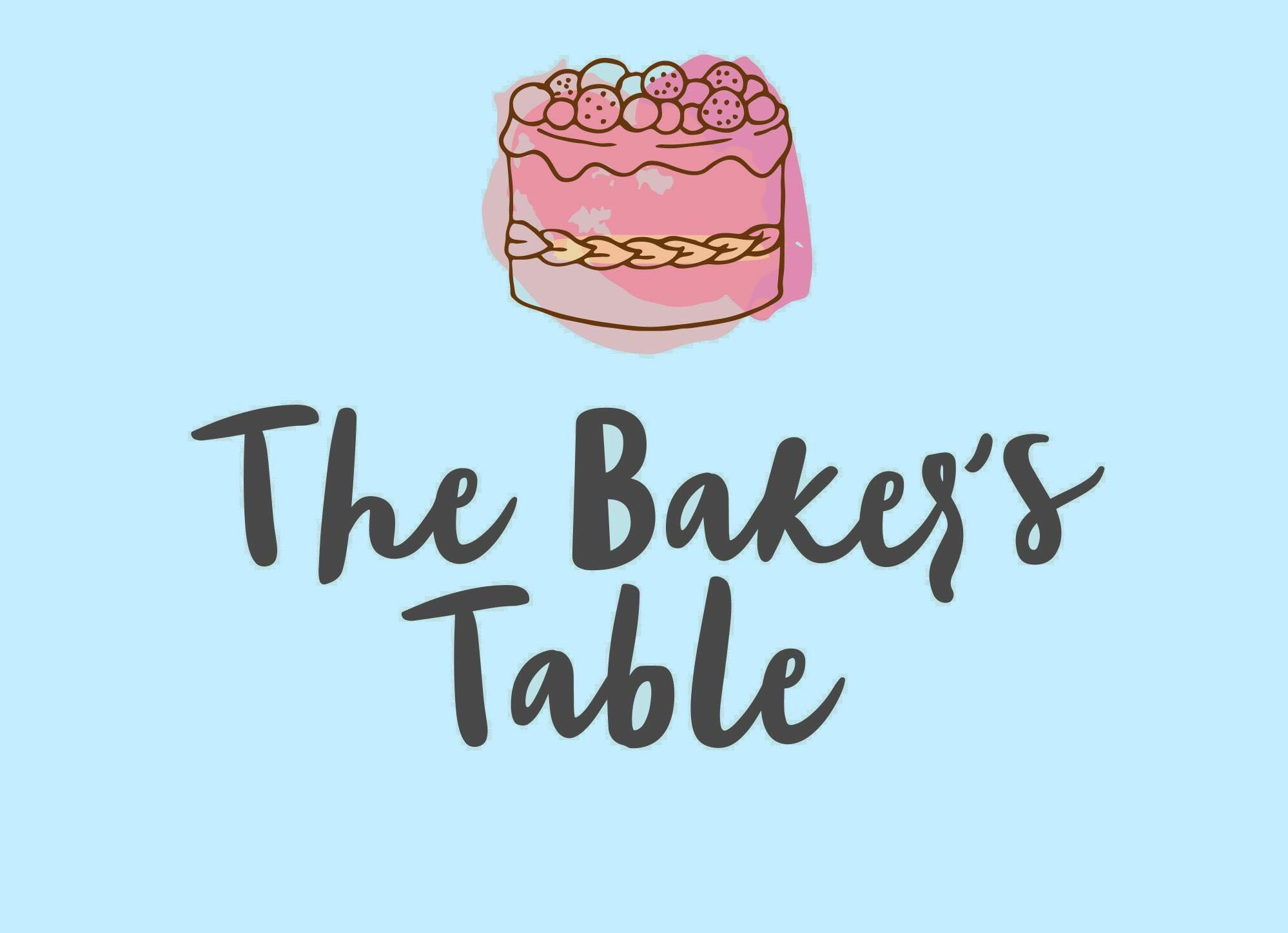 The Bakers Table - Highly recommended cakes, Pastry Chef.Bespoke cakes, muffins and traybakes. Weighed, whisked and baked at home. Specialising in Vegan & Gluten free bakes