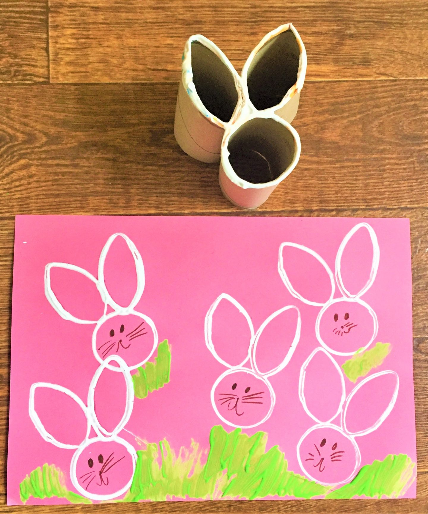 Easy Bunny Stamps Wonder Kids