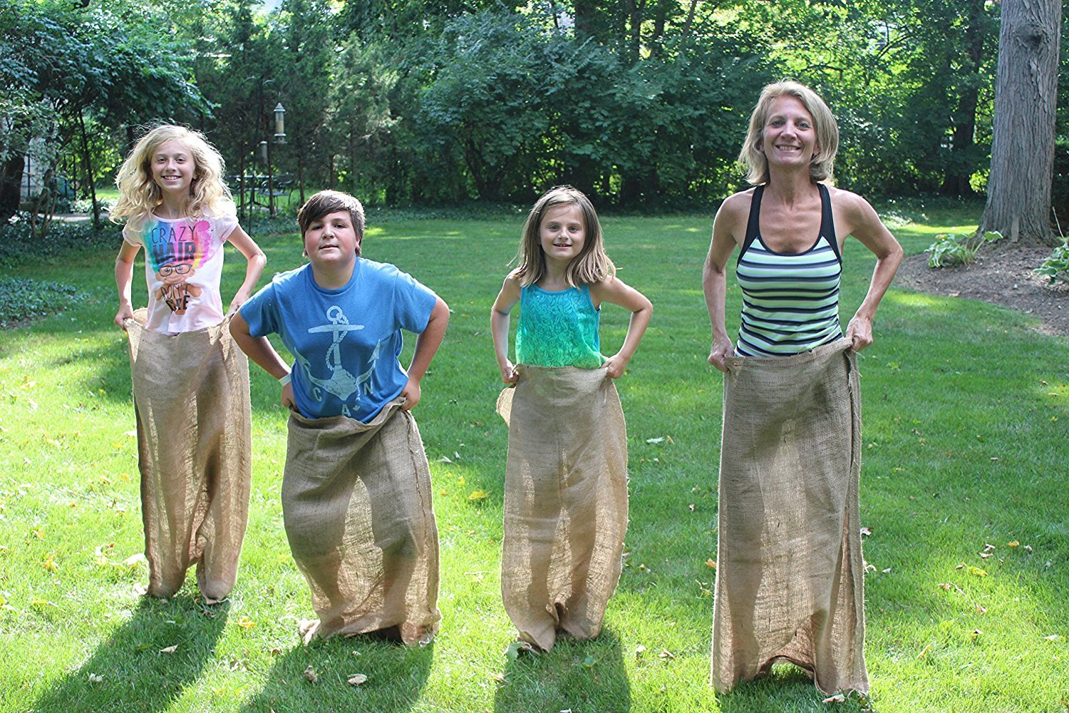 - Burlap Sacks on Amazon can be found here