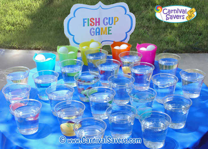Fish Cup Game