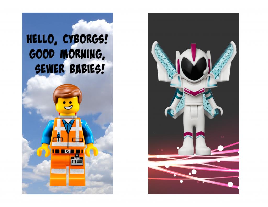 Lego Movie 2 bookmarks