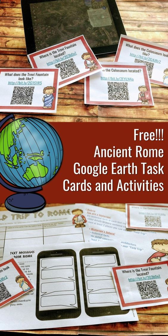 - Travel through Ancient Rome with this activity
