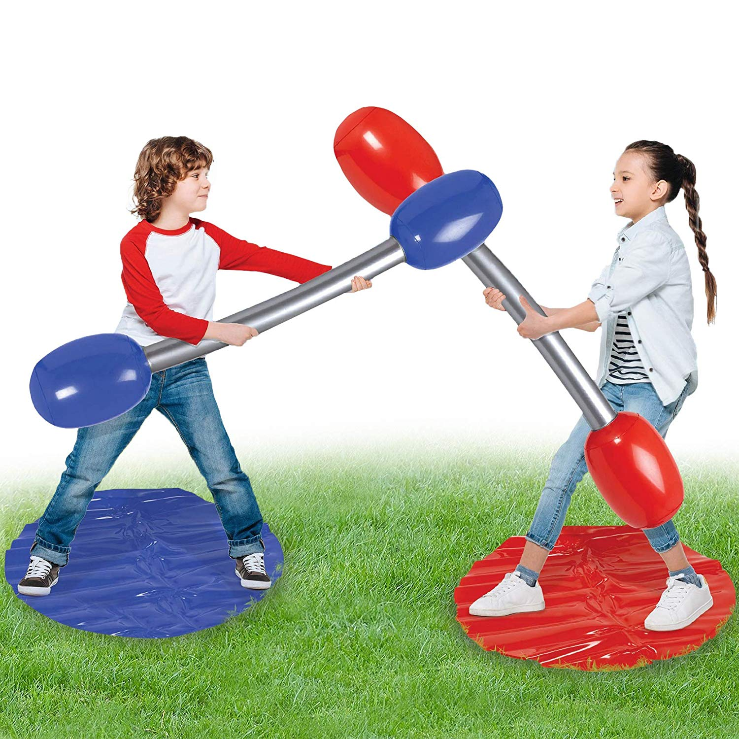 - Inflatable duel set £9.99