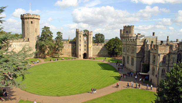 Warwick Castle - 1000 years of history
