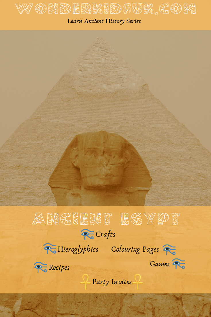 Ancient Egypt - Worksheets, Activities and fun games