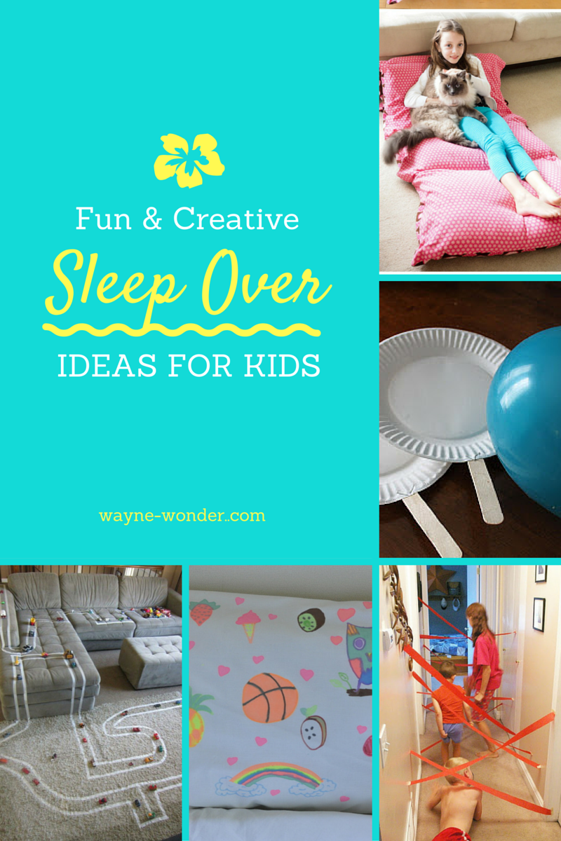 Sleepover Ideas - We have loads of ideas in our blog to make a great sleepover for your kids.