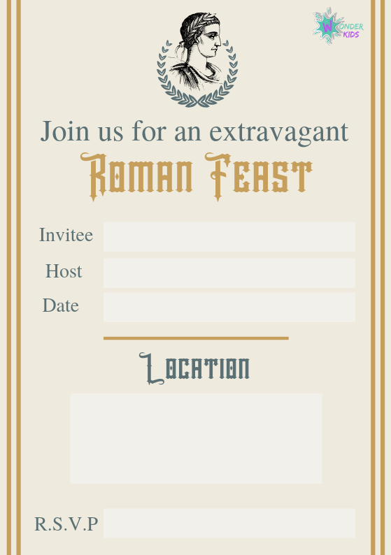 Roman Invites