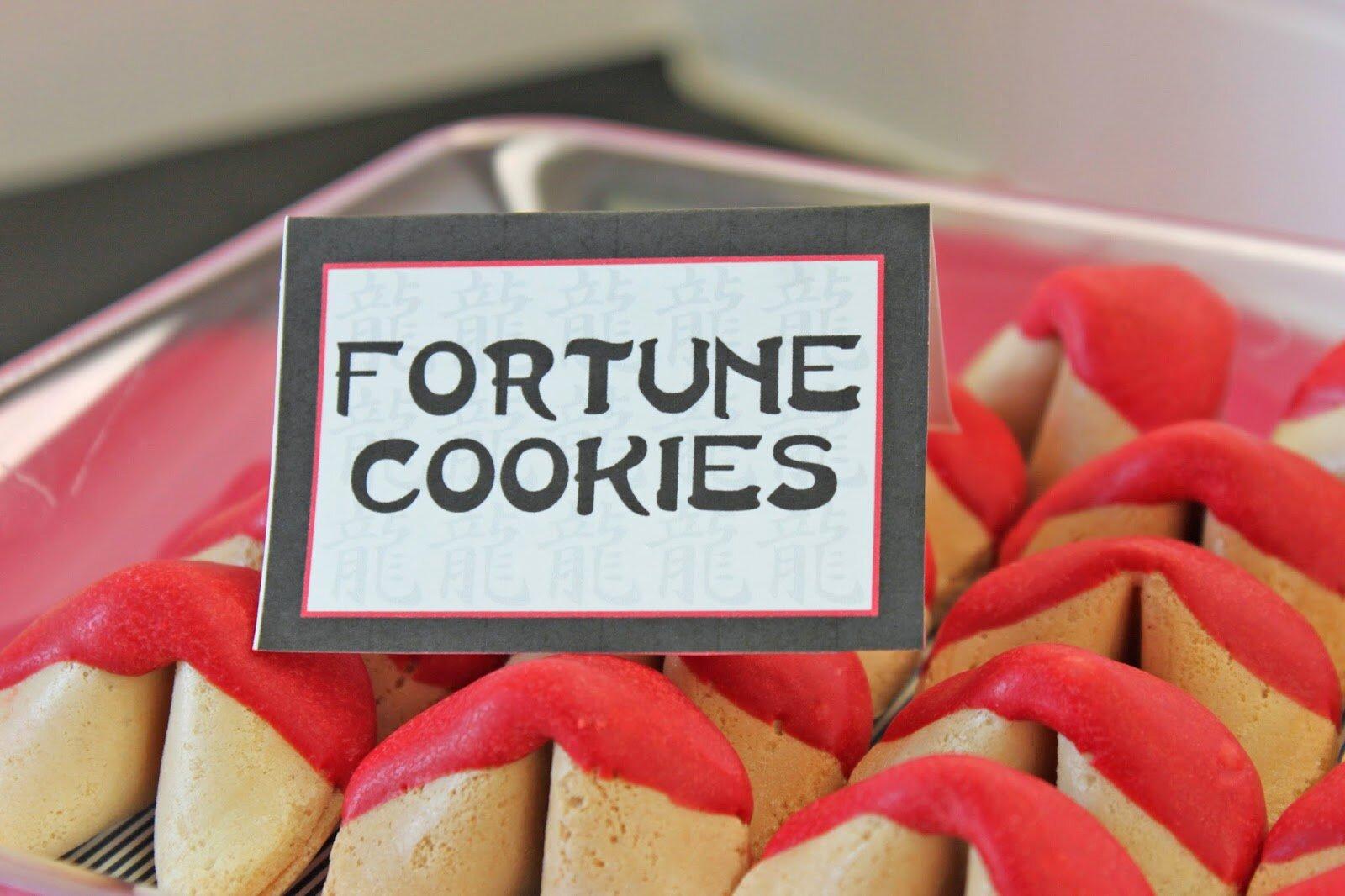 Ninjago Fortune Cookies