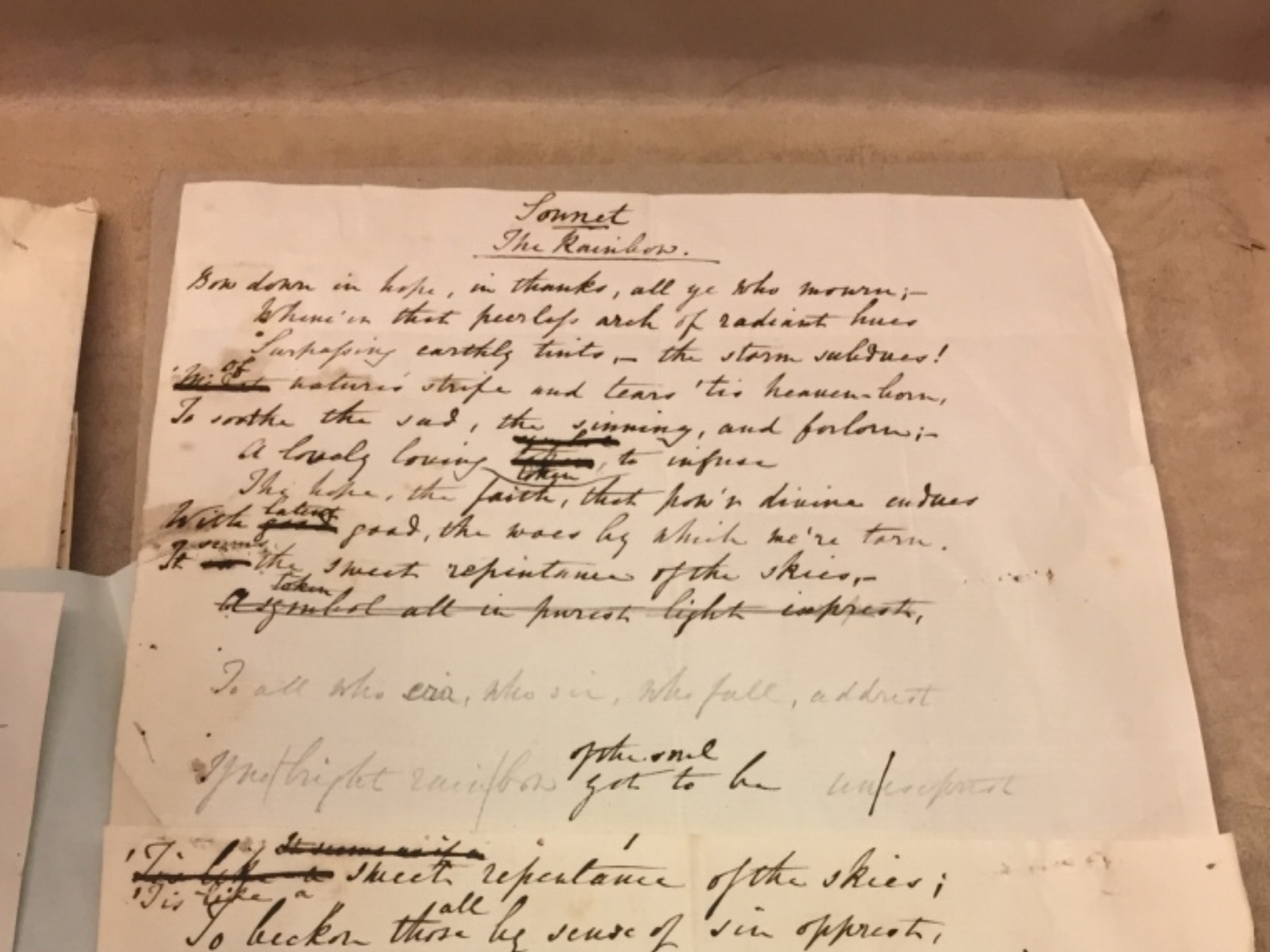The Rainbow , written by Ada Lovelace, and found in the British Library's archives.