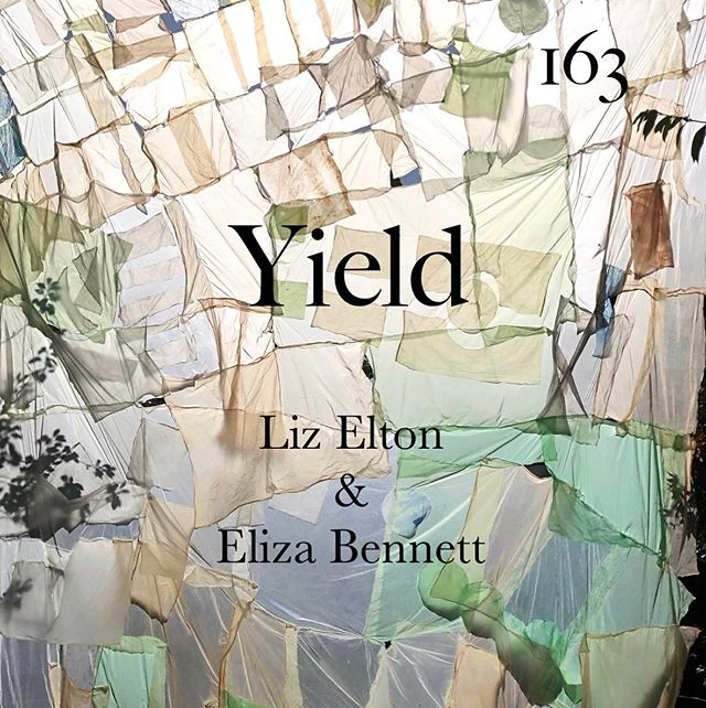 163 is proud to present Yield. Site-specific installations by Liz Elton and Eliza Bennett exploring materiality, agency and formation. Special View with hospitality Saturday 28th September 3-5pm. Show opens this weekend. Click bio link for full details & artist interviews by Hector Campbell. @elizabennett_art @liz_elton @campbell.hector @cglartschool @florencetrust #yield #artinstallation #video #film #colour #environment #materiality #formation #fragility #landscape #painting #sculpture #nature #land #light #books #poetics #contemporaryart #artgallery #johnruskin #hernehill