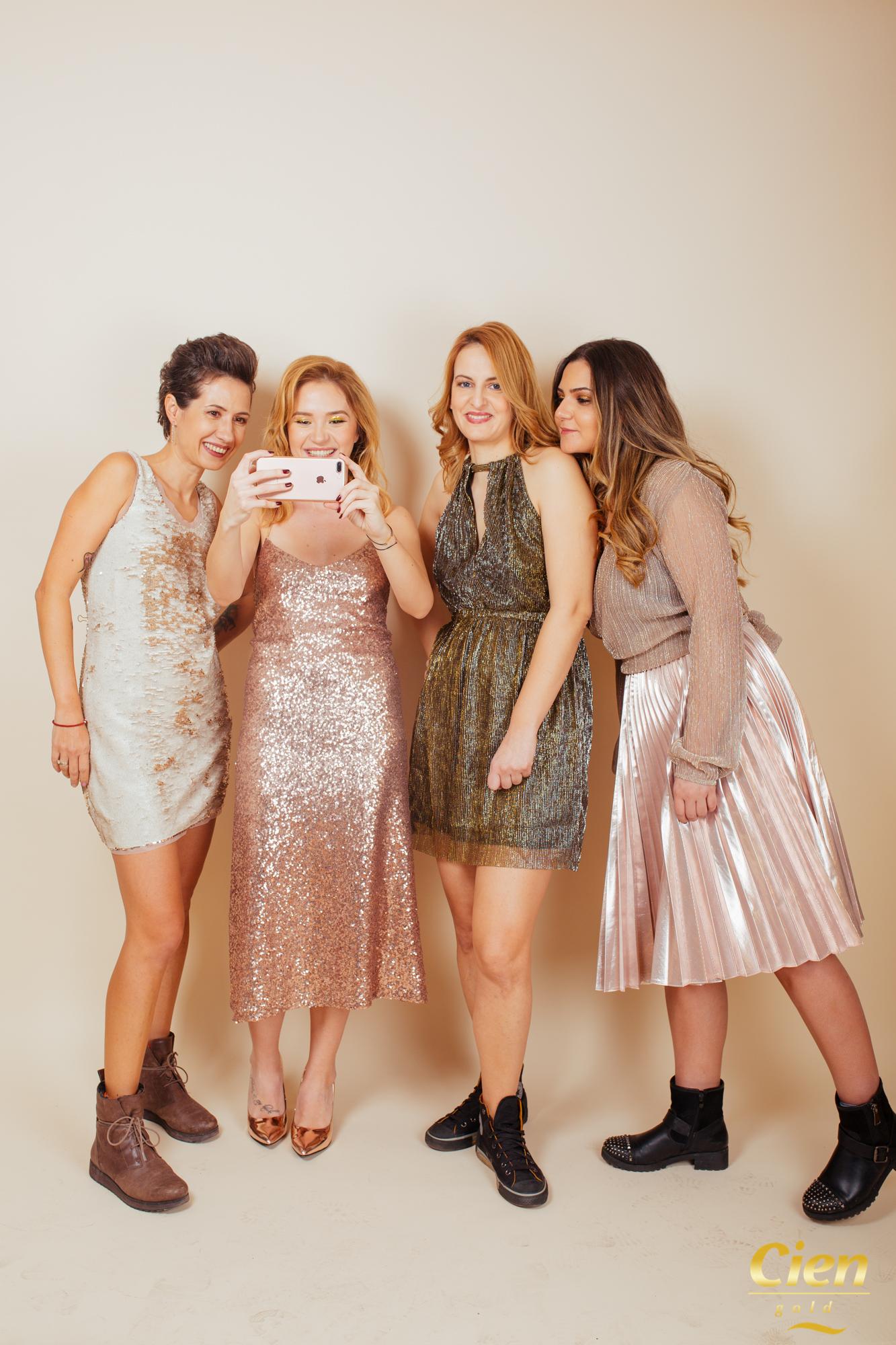 Bogdana, Raluca, Laura & Pia