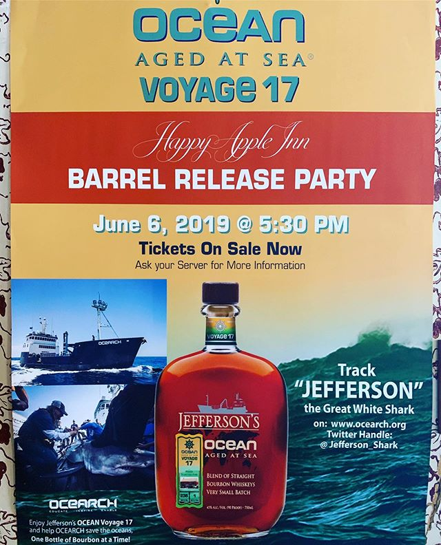 Our barrel release party is coming up soon! Make sure to make your reservation ASAP! For more info visit our website HappyAppleInn.com