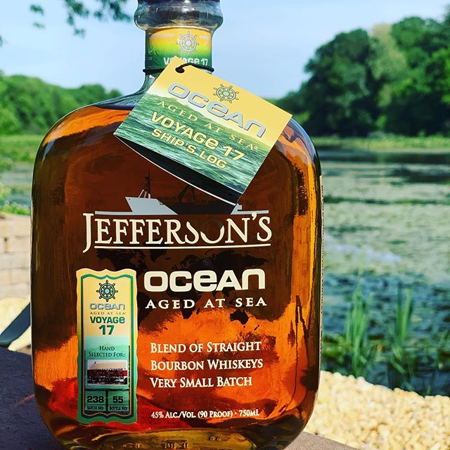 Less then 2 weeks before our release of our Jefferson Single Barrel Ocean Bourbon. All numbered with bottle number and barrel number.