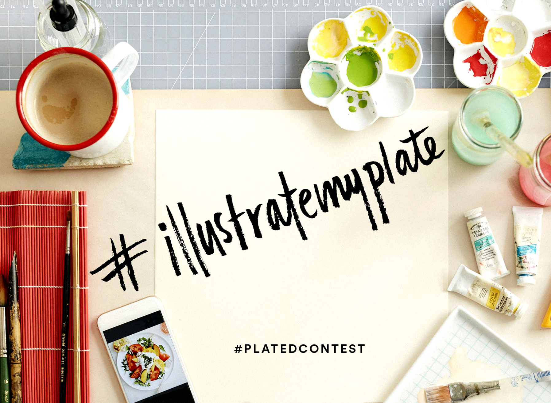 We wanted to do a fun contest for the holidays and increase engagement. Our customers and followers submitted their favorite #platedpics for a chance to get a painting of their photo if they won. This contest reinforced Plated's perspective on food as art. -