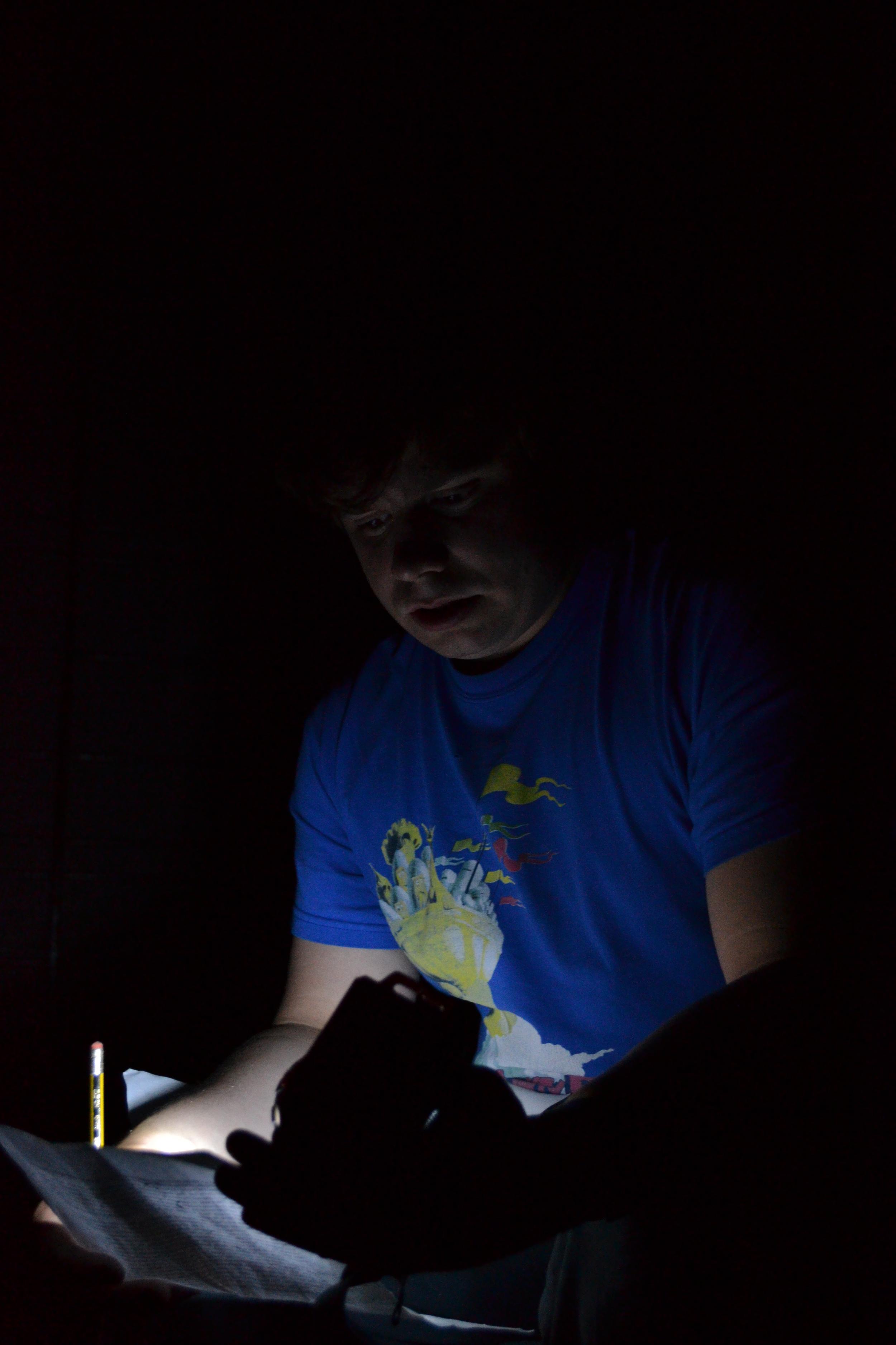 Matt Dark rehersal script.JPG