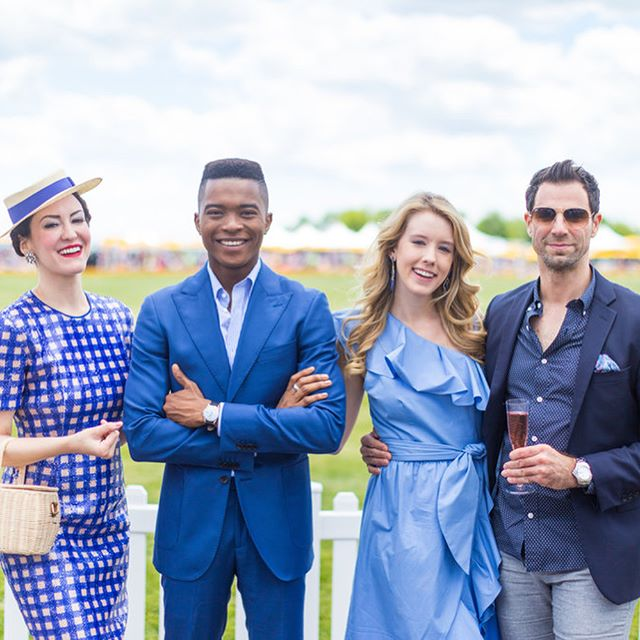 Style Made A Statement at this years #VeuveClicquot Polo Classic! | How fashionable will your next event be? Let's find out! #VCpoloclassic #PoloClassic