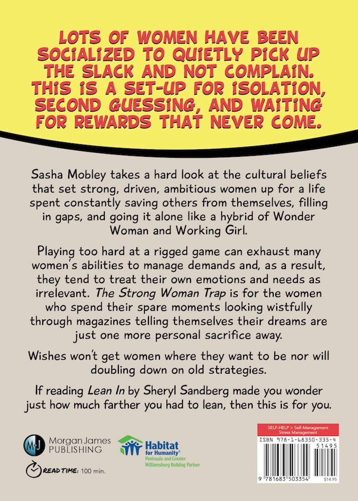 The Strong Woman Trap - Back Cover